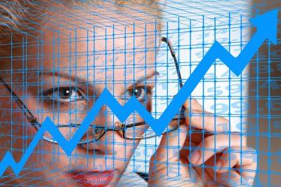 Women's Power Business Woman Businesswoman Economy