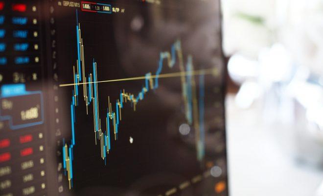Blur Chart Computer Data Finance Graph Growth