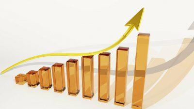 Graph, Growth, Finance, Profits, Dividends, Luck, BankGraph Growth Finance Profits Dividends Luck Bank