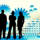 Businessmen, Manager, Office, Teamwork, Team SpiritBusinessmen Manager Office Teamwork Team Spirit